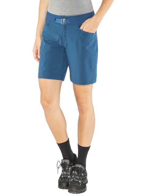 Arc'teryx Sylvite Spodnie krótkie Kobiety niebieski